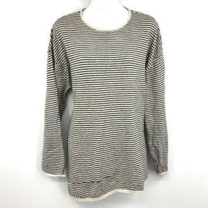 J. Jill PureJill Tunic Stripe Womens Sweater XL